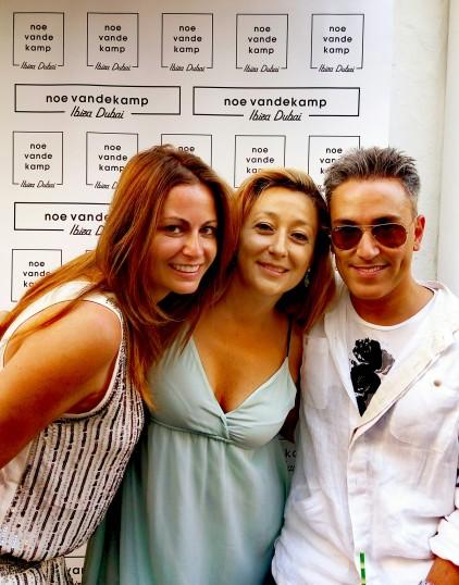 Ruti, Marta y Kiko
